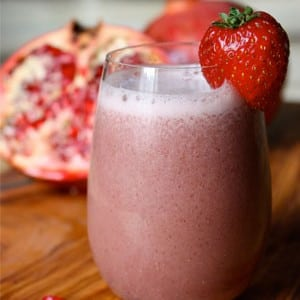 Strawberry Pomegranate Shakeology Recipe