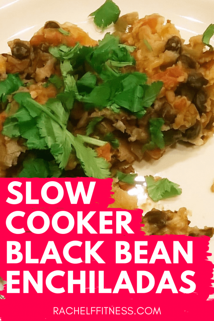 Slow Cooker Black Bean Enchiladas Recipe