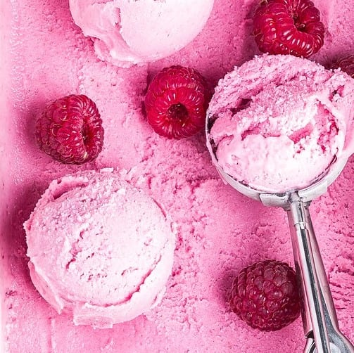 Healthy Berry-Banana Ice Cream
