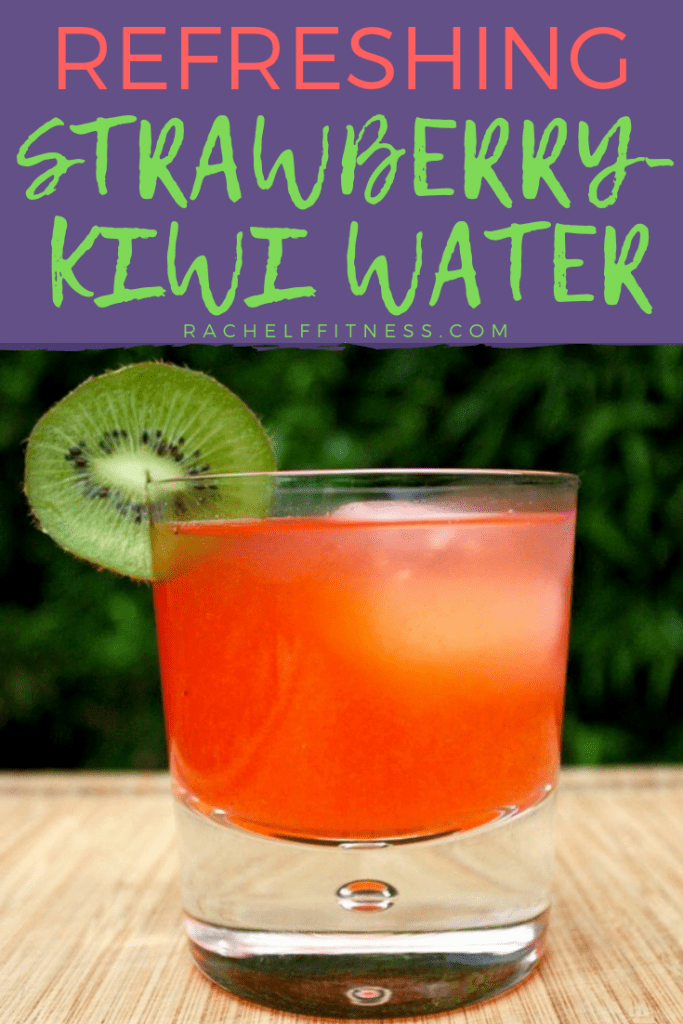 Strawberry kiwi water