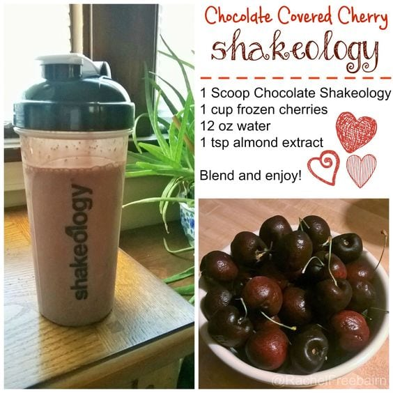 chocolate covered cherry shakeology smoothie