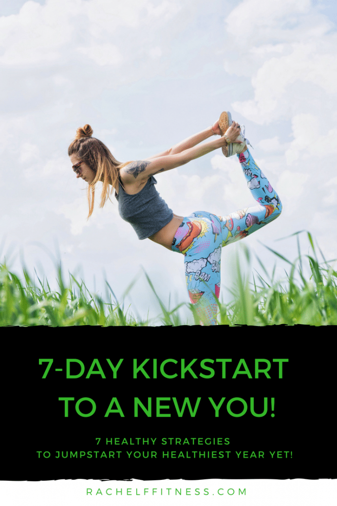 FREE 7 Day Kickstart to a New You Email Series. if you felt better, had more energy, and reached your ideal weight, you would probably feel like a new version of yourself, right?  I put this kickstarter series together to address all 3 of these issues with super simple tips you can implement right away!   During the next 7 days, you'll receive easy-to-implement strategies to help you look and feel better and help get you on your way towards FINALLY reaching YOUR health and wellness goals.