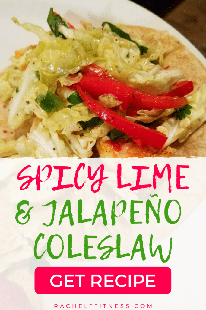 Spicy Lime and Jalapeno Coleslaw